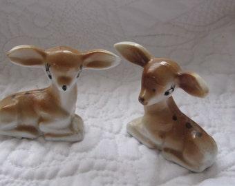 Vintage Deer Figurine, Porcelain Deer, Vintage Baby Deer, Fawn Figurine Mid  Century,Vintage Cabin Decor, Woodland Figurine box f