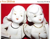 Christmas 1950's Angels, X-Mas Holiday Angel figurines  Religious Christian Angelic, retro 50's collectible Price reduced see notes