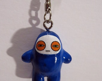 Kids Ninja keychain toys charm accessories mini Glum Ninja Bodyguards