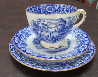 VINTAGE - From England - Sutherland China Trio - Historical Britain Series