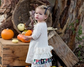 SAMPLE SALE -  Rebecca Dress in Woodland Rose - Size 2