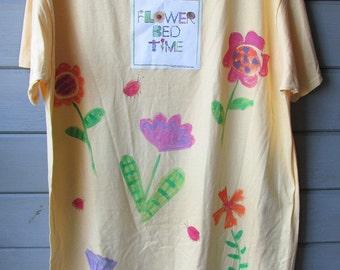 Flower Bed Time Sleep Shirt