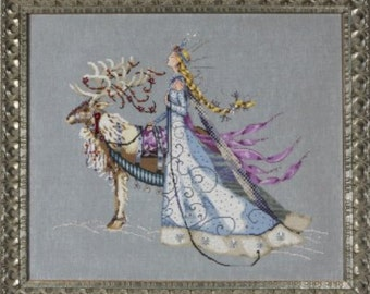 The Snow Queen Counted Cross Stitch Pattern, by Nora Corbett, Mirabilia Designs, WI
