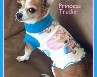 To Order Pet Dress Spoonflower Fabric Slip Dress