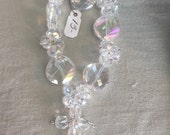 Special order for Louann Gorgeous AB crystal cross bracelet and matching earrings