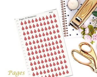 On Sale Period, Time of Month Planner Stickers for Erin Condren, Plum Paper, Filofax and other planners  Item #059