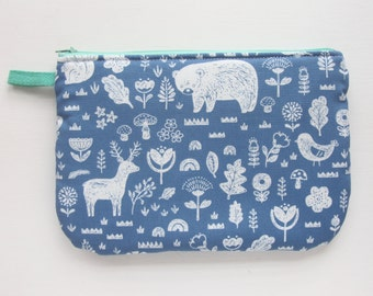 Blue Forest Pouch