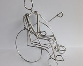 Wheelchair Rider Ornament