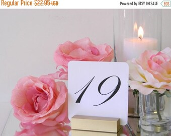 Gold Wedding Table Card Holders- Set of 10