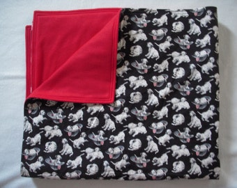 Dalmatian Baby/Toddler  Blanket
