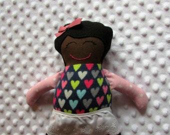 Margaret Small Handmade Fabric Baby Doll