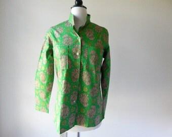 dead stock blouse | vintage 1960s blouse | 60s Ann Robin