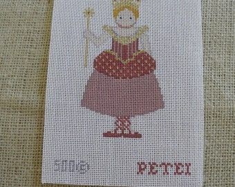 Needlepoint canvas - Sugar Plum Fairy