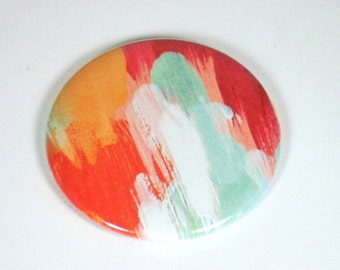Cute Pocket Mirror Handbag Mirror in  Watercolors   (PM64)
