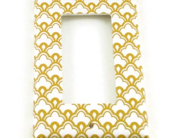 Rocker Switch Plate Light Switch Cover  Switchplate in Tangier (139R)