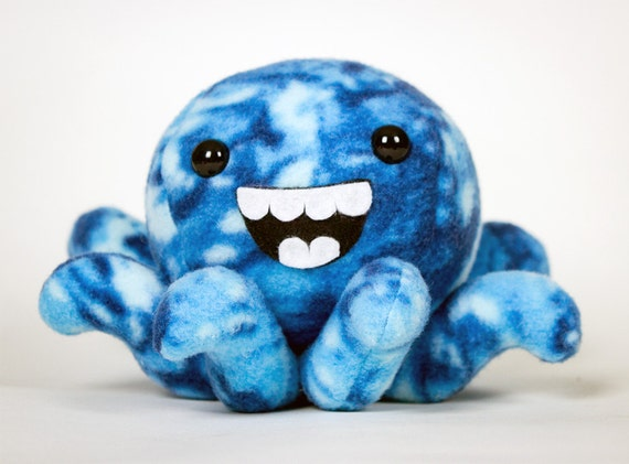 Small Octopus Plushie