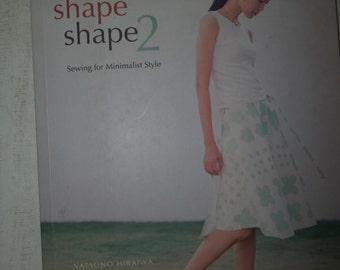 Shape Shape 2 Sewing Book, Minimalist Style Clothing