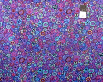 Kaffe Fassett PWGP020 Paperweight Purple Cotton Fabric By The Yard