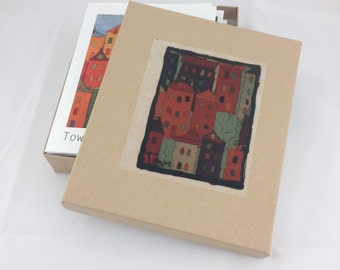 Town Notecards- Set of eight