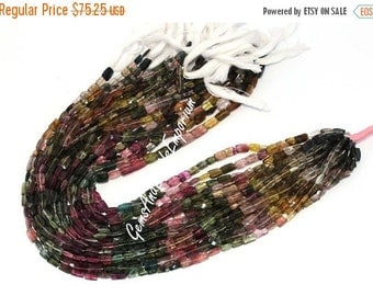 55% OFF SALE 6 Inchse 6x4 - 9x6 mm Genuine Multi Tourmaline faceted Rectangle briolettes Beads, Multi Tourmaline Briolettes, Tourmaline Bead