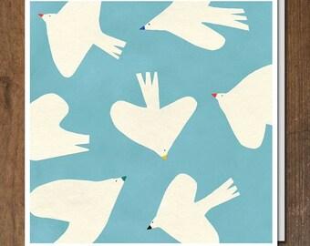 Doves card