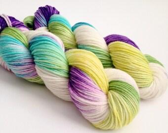 Hand Dyed Yarn - Isabelle - Superwash Merino Worsted - Ready to Ship - Vivid Yarn Studio