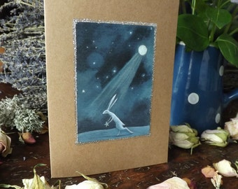 Stolen. Greeting Card with Envelope