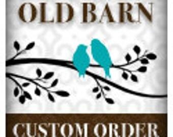 Custom order for jocelyn828 - large numbers