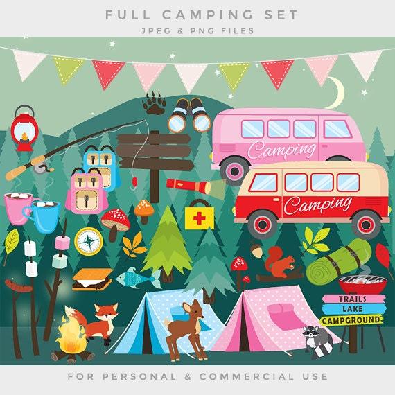 Camping Clip Art Clipart Tent