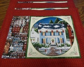 SALE    Xmas House Place Mats