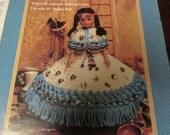 Crochet Doll Clothing Crocheting Pattern Indian Princess II Fibre Craft FCM 355