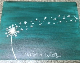 Make a Wish painting
