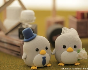 Penguins  Wedding Cake Topper-love Penguins --Special Edition