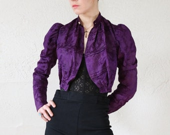 ON SALE Victorian Jacket . 1800s Extra Small Top