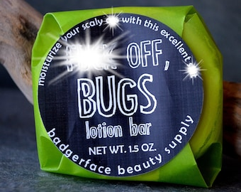 BUG REPELLENT. Bug Spray. 1.5 oz / 43 g. Bug Repellent Lotion Bar. Natural Bug Repellant. Natural Insect Repellent. Mosquito Repellent.