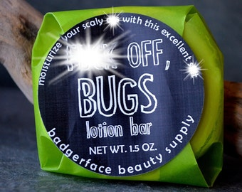 Bug Repellent. Bug Spray. 1.5 oz / 43 g. Bug Repellent Lotion Bar. Bug Repellant. Insect Repellent. Mosquito Repellent. Solid Bug Repellent.