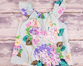 Flutter Top, Baby Girl, Toddler Girl Clothes, Baby Girl Clothes, Delightful Mint by Charming Necessities