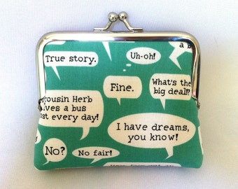 Quotes Coin Purse