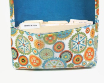 Waterproof Coupon Organizer Holder Retro Geometric Circles