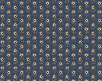 Civil Wars Times in Blue for Penny Rose Fabrics - 1 Yard