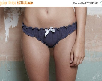 ON SALE Japonica Knicker - Organic Cotton and Soy s      Lingerie / Underwear Made to Order