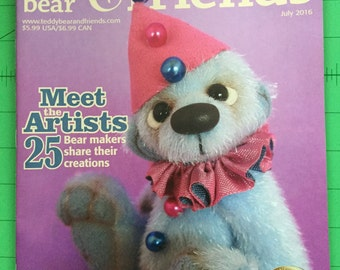 Teddy Bear and Friends Magazine July 2016 Issue