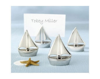 30 Sail Boat Place Card Holders Beach Wedding Favors  Craft Supply