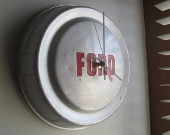 1959  Ford Truck Hubcap Clock no.2385