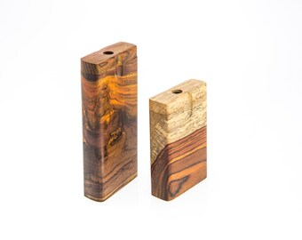 Dugout Cocobolo Wood 3 inch
