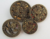 antique buttons twinkle backgrounds