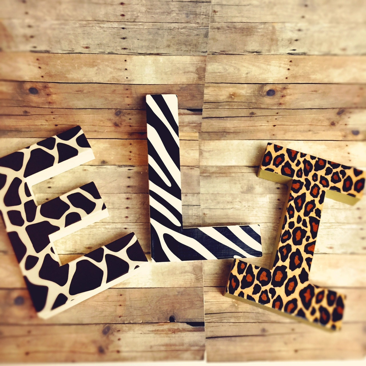 Glitter Letters Pink and grey self standing letters glitter dipped ...