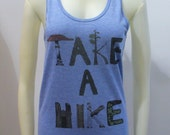 Take a Hike Tank Blue