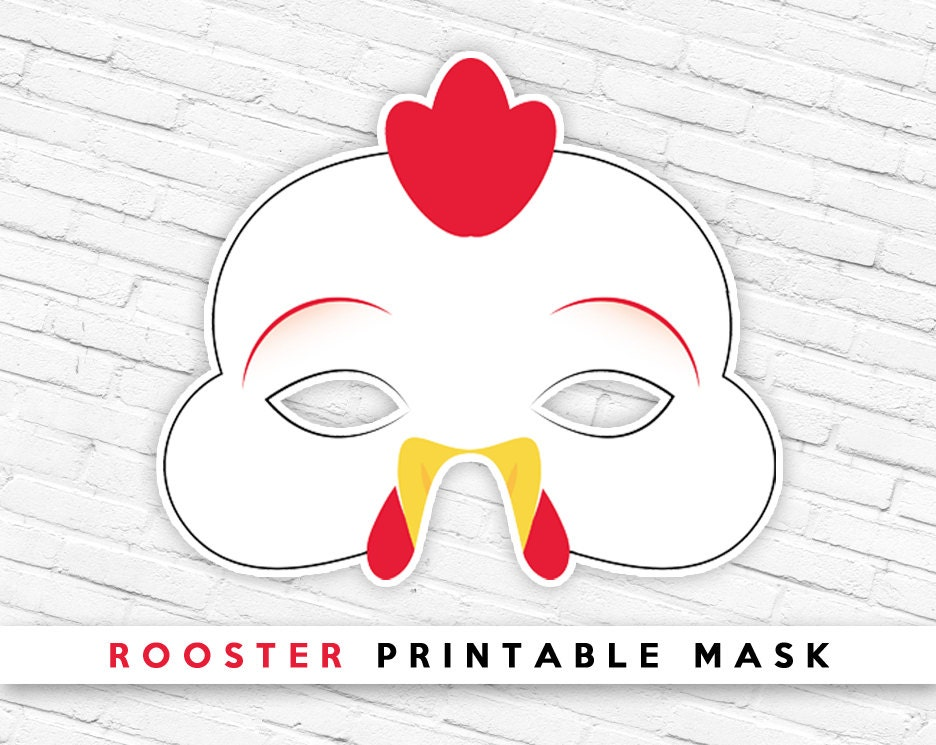 Chicken mask printable chicken mask printable photo3 pronofoot35fo Gallery