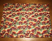 Set of 4 Thanksgiving Placemats